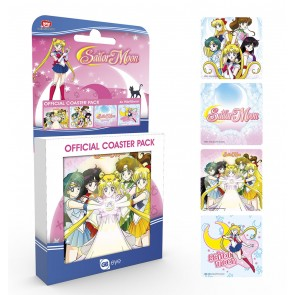 Sailor Moon Untersetzer Mix 4-er Pack