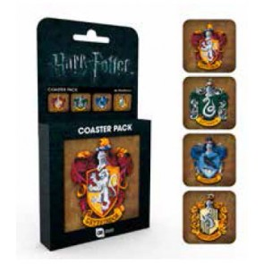 Harry Potter Untersetzer 4-er Pack Crests