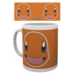 Pokemon Tasse Glumanda Face
