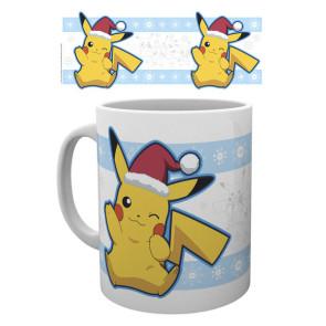 Pokemon Tasse Pikachu Santa