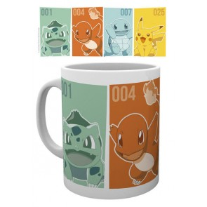 Pokemon Tasse Kanto Starters