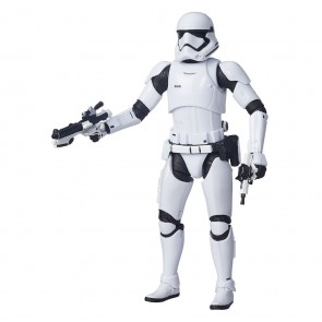 Star Wars VII First Order Stormtrooper Black Series Actionfigur 15 cm SDCC Exclusive