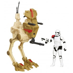 Star Wars Episode VII Fahrzeug mit Figur 2015 Assault Walker Exclusive