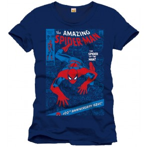 Spider-Man T-Shirt The Spider Or The Man Cover