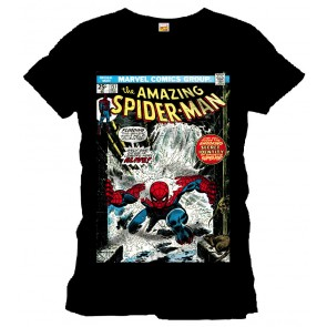 Spider-Man T-Shirt In the Water black
