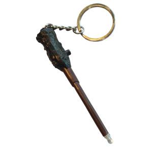 Harry Potter Schlüsselanhänger Harrys Zauberstab mit Leuchtfunktion