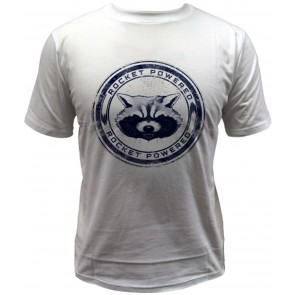Guardians of the Galaxy T-Shirt Rocket Powered