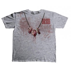 The Walking Dead T-Shirt Dixon Ear Necklace