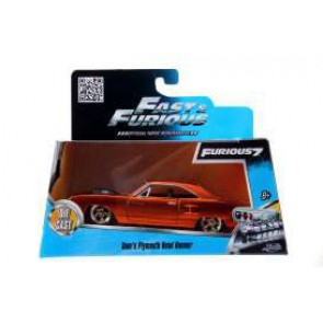 Fast & Furious 7 Diecast Modell 1/32 1970 Plymouth Road Runner Orange