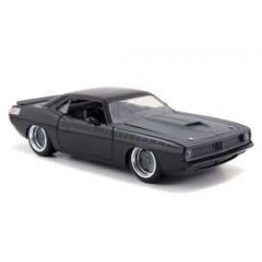 Fast & Furious Diecast Modell 1/24 1970 Plymouth Letty's Barracuda