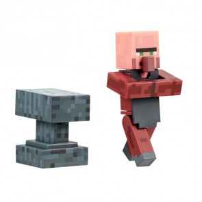 Minecraft Blacksmith with Anvil Actionfigur 8 cm