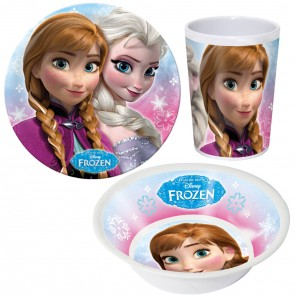 Die Eiskönigin Völlig unverfroren Frühstücks-Set Elsa & Anna