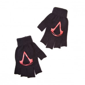 Assassins Creed IV Black Flag Handschuhe (Fingerlos) Logo
