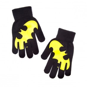 Batman Handschuhe Yellow Logo