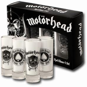 Motörhead Schnapsgläser 4er-Pack