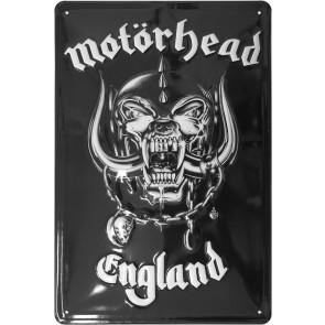 Motörhead Blechschild England 20 x 30 cm