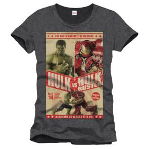 Avengers T-Shirt Hulk Vs Hulkbuster