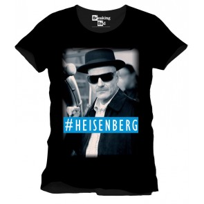 Breaking Bad T-Shirt Hashtag Heisenberg