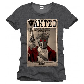 Guardians of the Galaxy T-Shirt Wanted Star Lord