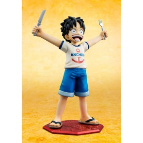 One Piece Excellent Model Mild POP CB-1R Monkey D Luffy 1/8 Statue 12 cm