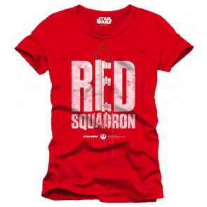 Star Wars Rogue One T-Shirt Red Squadron