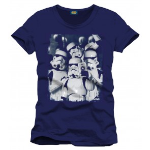 Star Wars T-Shirt Selfie Troopers