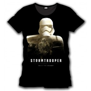 Star Wars Episode VII T-Shirt Stormtrooper Rule The Galaxy