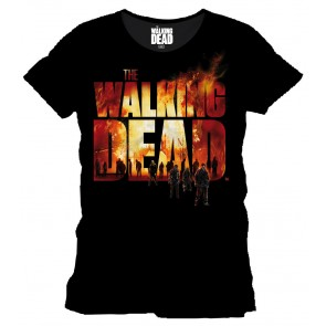 Walking Dead T-Shirt Burning Logo