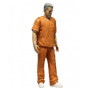 Sons of Anarchy Clay Morrow Actionfigur Orange Prison Variant NYCC Exclusive 15 cm