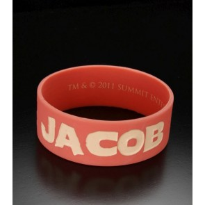 Twilight Breaking Dawn Gummi Armband Team Jacob Solid