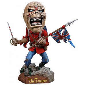Iron Maiden Eddie Head Knocker Wackelkopf Figur 18 cm