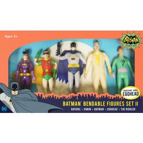 Batman 1966 Biegefiguren 5er-Pack Set II 14 cm