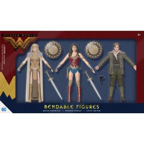 Wonder Woman Movie Biegefiguren 3er-Pack 14 cm