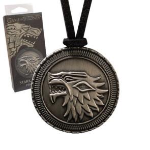 Game of Thrones Anhänger mit Kette Stark Shield