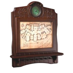 Der Hobbit Schlüsselbrett Die Karte von Beutelsend