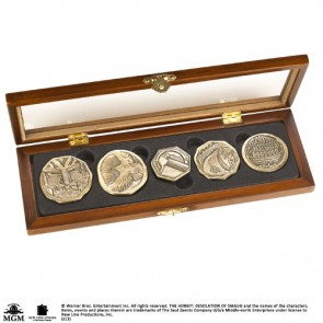Der Hobbit Münzen Set Dwarven Treasure