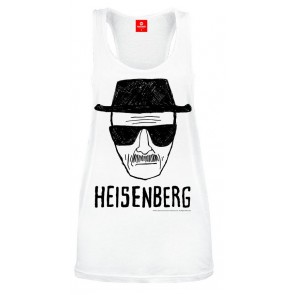 Breaking Bad Tank Top Heisenberg white