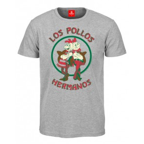 Breaking Bad T-Shirt Los Pollos Hermanos grey