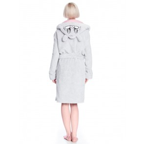 Bambi Fleece-Bademantel Klopfer