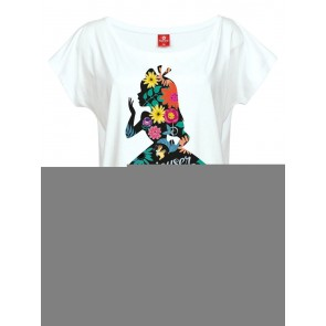 Alice im Wunderland Girlie T-Shirt Flower Power