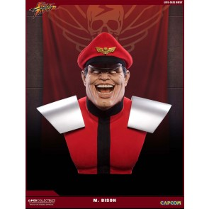 Street Fighter M. Bison Life Size Büste 69 cm