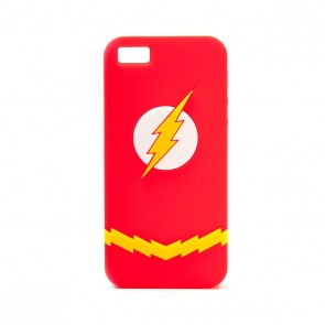DC Comics iPhone 5 PVC Schutzhülle Flash Logo