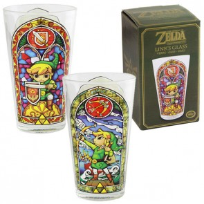 Legend of Zelda Wind Waker Glas Link
