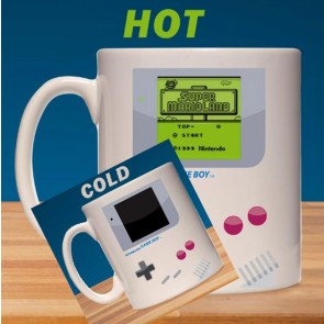 Nintendo Game Boy Tasse mit Thermoeffekt Super Mario Land