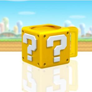 Super Mario Tasse Shaped Fragezeichen-Block 13 cm