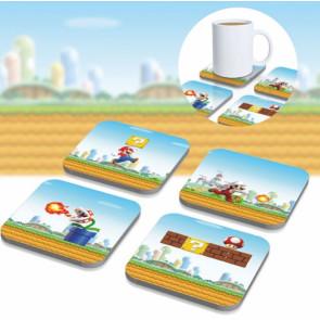 Super Mario 3D Untersetzer 8er-Pack