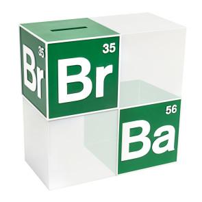 Breaking Bad BrBa Logo Spardose - Buchstütze