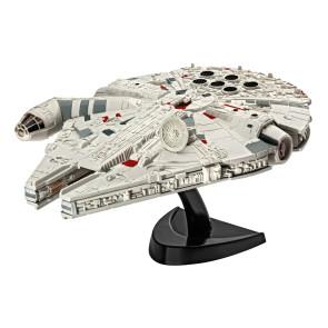 Star Wars Episode VII Modellbausatz 1/241 Millennium Falcon 10 cm