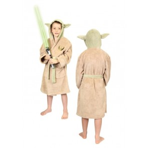 Star Wars Kids Fleece-Bademantel Yoda