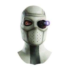 Suicide Squad Latex-Maske mit Leuchtfunktion Deadshot